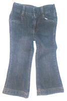 Cherokee Toddler Girls Jeans Stretch Waist Dark Blue Size 2T NWT