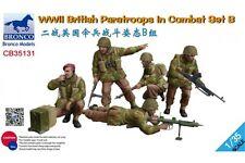BRONCO CB35131 1/35 WWII British Paratroops In Combat Set B