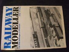 **m Railway Modeller July 77 A8 in 4mm scale / Martins ltd and co / signal box