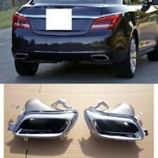 2x For Buick LaCrosse 2014-2015 Car Stainless Rear Right+Left Side Throat Frames