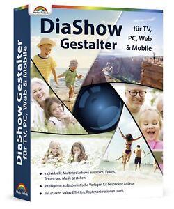 Diashow Gestalter - Fotoshows am PC erstellen für TV,PC,WEB und Mobile Geräte