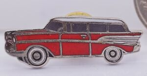 hatpin GIFT BOXED cl lapel pin 57 1957 Chevrolet hat pin tie tac