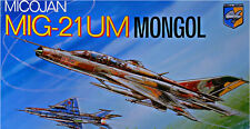 PLASTIC MODEL AIRPLAINE MIG-21 UM MONGOL SOVIET TRAINER-FIGHTER 1/72 CONDOR 7207