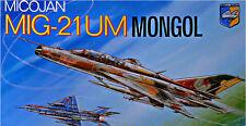 PLASTIC MODEL AIRPLAINE MIG-21 UM MONGOL SOVIET TRAINER-FIGHTER 1/72 CONDOR 7207