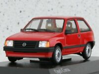 OPEL Corsa - 1983 - red - Minichamps 1:43