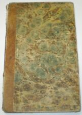 Early 1800's, AMERICAN SUNDAY SCHOOL UNION, MARY SCOTT, LEATHER BOUND, CHRISTIAN