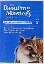 SRA Reading Mastery Signature Edition Practice and Review Activities Cd-rom Gr 3