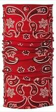 Original Buff Cashmere Red Head & Neckwear + Balaclava/Bandana/Neck Tube/Scarf