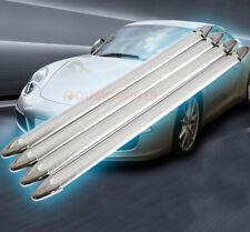 CD34 Bumper Strip 4pcs Rubber Car Accessories for Auto Bumper Strip Silver