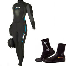 LO3 Seac Sub 2019  Semy Dry Suit  Master Dry WOMAN  size XXL  + seac boots 5mm Z