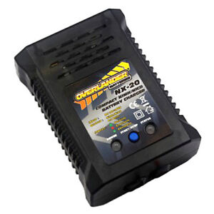 Overlander NX-20 NiMH Fast Battery Charger 2A 20W - RC Car, Tamiya Fast Charger