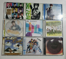 Lot of 9 Various Kpop Jpop Album Cd Bts Juhno Pm Block B Supernova Se7En