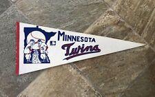 Vintage 60s Minnesota Twins Baseball Pennant ###