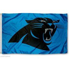 CAROLINA PANTHERS FLAG 3'X5' NFL LOGO BANNER: FAST FREE SHIPPING