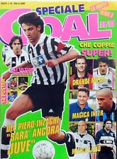 RIVISTA MAGS MAGAZINE SPECIALE GOAL 98/99 INTER DEL PIERO BAGGIO POSTER VIERI