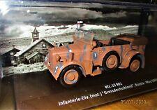 NEW WWII CARS Altaya 1/43 N°4 + KFZ. 15 901 MODÈLES MYTHIQUES DE LA PLUS GRANDE
