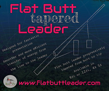 10 Flat Butt Tapered leaders 12ft