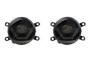 LED Nebelscheinwerfer + Tagfahrlicht Black Cree Chip für Opel Meriva A OPC LSW4