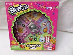 New Shopkins Pop 'N' Race Game Ages 5+  Pressman Toy