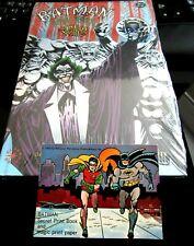 Lot/2-1993-DC Comics-BATMAN The Wild & RARE 1966 National Periodical Pub.Booklet