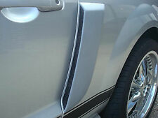 PAINTED SIDE SCOOPS FOR A 2005-2009 FORD MUSTANG FACTORY STYLE