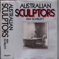 Vintage 1980 AUSTRALIAN SCULPTORS Ken Scarlett (HCDJ 1st Ed) ART REFERENCE