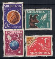 Albania 1962 Mi. 663-666 Used 80% Space