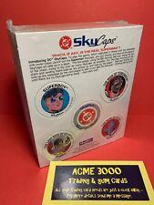 1993 Skybox SKYCAPS Pogs DC Comics RETURN OF SUPERMAN - 50 Complete Sets Sealed