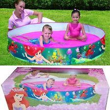 Disney Princess Fill n Fun 5ft Paddling Pool Little Mermaid Ariel Swimming