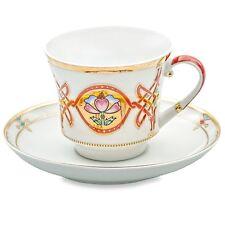 Russian Imperial Porcelain Factory. Byzantium Teacup w/ Saucer 7.4 fl oz