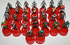 Masked Rider Kamen Bottle Cap Figure Set of 30 Seven Eleven 2002 Series Bandai