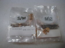 Solitron M/W  SMA right angle Connector for .141 semirigid hardline  NOS