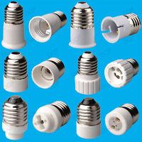 E26 (USA) to E14 E26 B22 MR16 GU10 or GU9 Light Bulb Lamp Socket Adaptor Holder