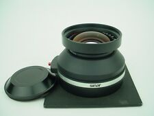 Calumet 240mm f/5.6 Caltar-S II Multicoating Lens + Sinar AutoAperture Lensboard