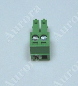 2 Pin - 3.81mm / Pluggable Quick Connector - Screw Terminal Block - Phoenix Plug