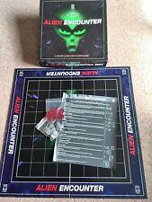 VINTAGE da collezione alieno incontrano BOARD GAME-Completo-Buone condizioni