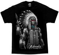 Warrior Native American Indian Chief Tribal Apache T Shirt DGA David Gonzales
