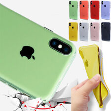 Shockproof TPU Plating Candy Cover Case For iPhone 8 7 6 Plus XR XS 11 PRO MAX