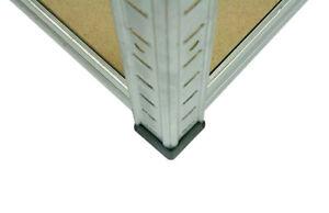4 er SET  Plastikfuß Steckkappe für Metallregal Steckregal Regal HELIOS - Serie