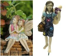 New - Miniature Fairy - My Sister My Friend and Maggie Figurines - Free Shipping