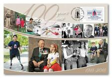 Canada ~ 2018 WAR AMPS ~ 100th Anniversary SPECIAL ED FDC; FREE SHIPPING Can /US