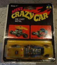 Mini Crazy Car Kings Car Wagon MOC Diecast Hot Wheels Zowees Rat Fink