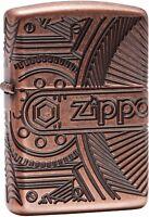 Zippo Choice Armor Multicut Steampunk WindProof Lighter Antique Copper 29523