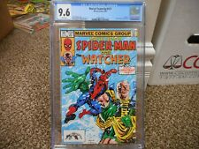 Marvel Team Up 127 cgc 9.6 Amazing Spiderman and the Watcher NM MINT 1983 WHT pg