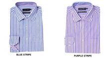 Camisa de vestir de vestir de hombre en color principal azul