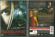DVD - BROCELIANDE avec ELSA KIKOINE, ALICE TAGLIONI ( HORREUR ) / COMME NEUF