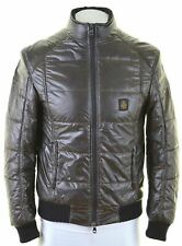 REFRIGIWEAR Mens Padded Jacket Size 36 Small Brown Polyester  NA17
