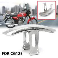 Motorcycle Front Fender Mudguard Mud Splash Guard Metal Cover For Honda CG125