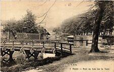 CPA Reims Pont en bois sur la Vesle (490763)