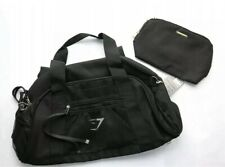 BNWT Gymshark x Whitney Simmons Black Holdall Gym Bag W/ Make Up Case